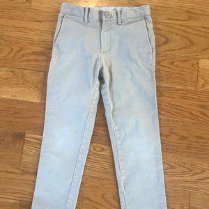 CrewCuts plain front khaki pants